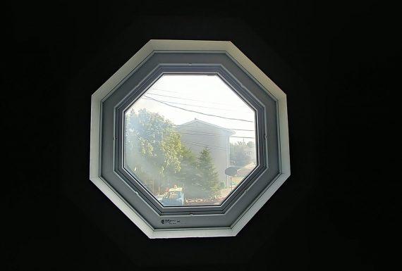 Broken double pane window seal