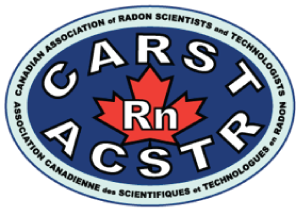 Memeber Canadian Association of Radon Scientists & Technologists Halifax NS