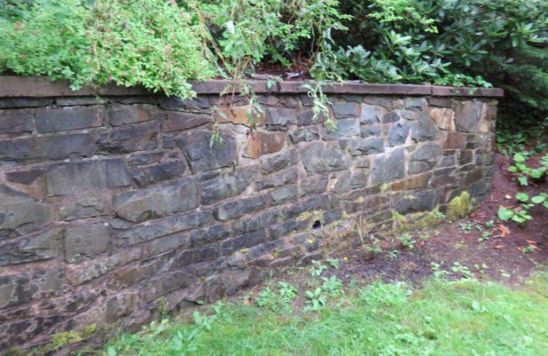 Retaining walls home inspection halifax