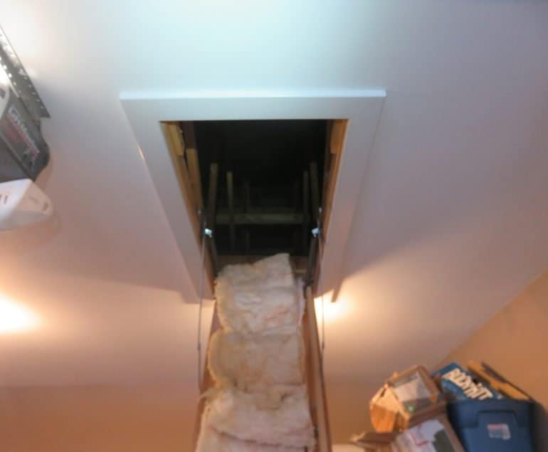 Attic Pull Down Stairs